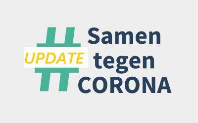 Update: samen tegen corona