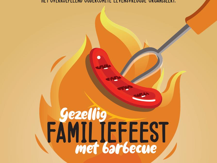 Familiefeest met barbeque